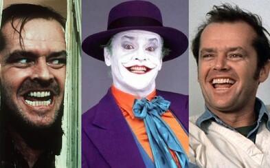 Jack Nicholson: Gentleman s ďábelským úsměvem a talentem překypující herec. Co jste o něm ještě nevěděli?