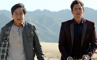Jackie Chan a Johnny Knoxville z Jackass v klasickej akčnej komédii bláznivého a obľúbeného herca