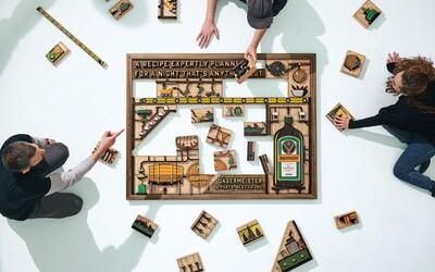 Jägermeister pomocou drevených umeleckých kúskov upozorňuje na svoje dedičstvo, ingrediencie a precíznu výrobu
