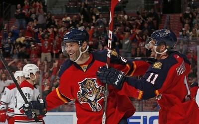 Jágr zabodoval i proti Carolině a už je historicky čtvrtým nejproduktivnějším hráčem v NHL
