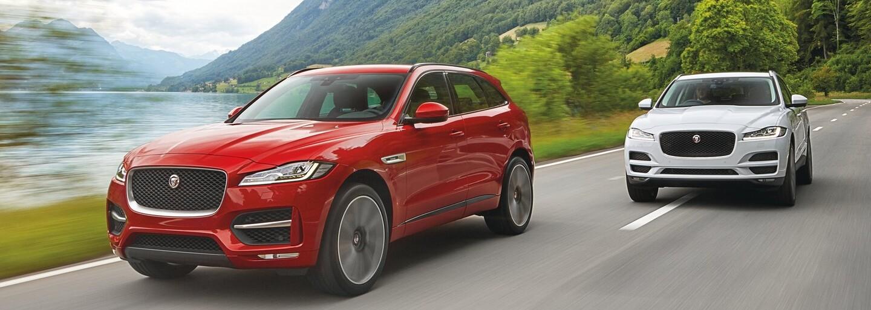 Jaguar formou svetového rekordu predstavuje svoje prvé SUV dizajnom útočiace na zmysly