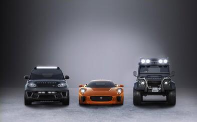 Jaguar Land Rover prezrádza automobilové skvosty pre najnovšiu bondovku Spectre