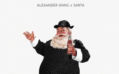 Jak by to vypadalo, kdyby Santa rozdával dárky v outfitech od těch nejpopulárnějších návrhářů?