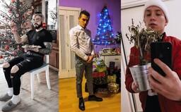 Jak čeští influenceři a rapeři oslavili letošní Vánoce?