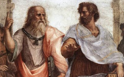 Jak člověka vnímali největší antičtí filozofové Aristotelés a Platón?