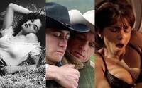 Jak odvážný byl sex ve filmech na začátku? Od prvního polibku, přes nahotu až po homosexuální lásku