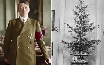 Jak probíhal Hitlerův předvánoční večírek? Historické fotografie ti ukáží Vánoce minulého století