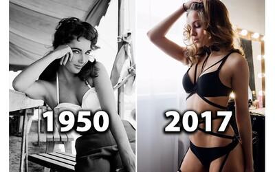 Jak se vyvíjela ideální ženská postava? Kdysi byly v módě konzervativnější křivky, ale dnes bys dokonalých těl našel tisíce