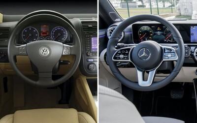 Jak se změnila auta za posledních 20 let? Získáš více výbavy, vyšší bezpečnost a více pohodlí