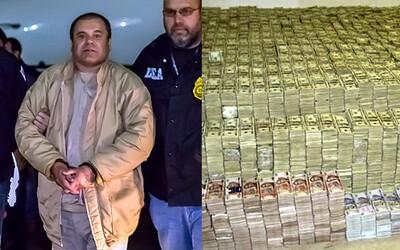 Jak skrýval mexický drogový boss El Chapo 2 miliardy dolarů? Schovával je do hydraulických stěn a miliony se jen tak povalovaly