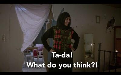 Jak to vypadá, když se ženy ze západu nastěhují k bojovníkům ISIS? BBC si v novém skeči utahuje z Islámského státu