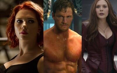 Jak vypadají Avengers poté, co shodí své kostýmy? Prohlédněte si své oblíbence na lákavých fotkách