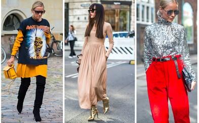 Jak vypadala pouliční móda v Kodani v průběhu Copenhagen Fashion Weeku?