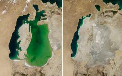 Jak vypadala příroda před několika lety? NASA odhalila fotografie lidské zkázy