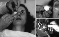 Jak vypadala výroba kontaktních čoček v polovině minulého století? Bizarní proces naháněl hrůzu