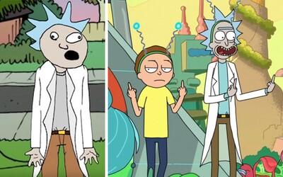 Jak vypadaly počátky Ricka a Mortyho? Svou cestu na televizní obrazovky opravdu neměly lehkou