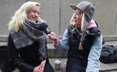 Jaká je tvoje nejoblíbenější část těla na opačném pohlaví? V ulicích Prahy jsme se dočkali různorodých odpovědí (Video)