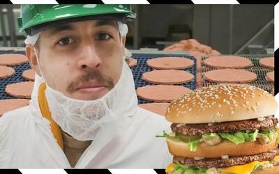 Jaké maso opravdu dávají do burgerů v českých McDonald's?