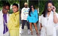 Jaké outfity zvolila Kim Kardashian nebo Rihanna na přehlídku Virgila Abloha? Módní show Louis Vuitton přilákala mnoho známých tváří