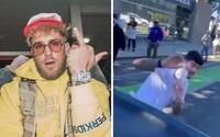 """Jake Paul napadl kolegu Conora McGregora balónky s vodou. """"Jsi ku**ička,"""" křičel na něj"""