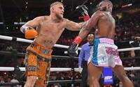 Jake Paul zůstává v profi boxu neporažený. Bývalého šampiona UFC zdolal na body