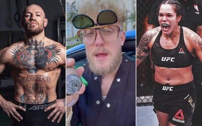 Jakeu Paule, řešeto z tebe nadělá i naše ženská šampionka, prohlásil šéf UFC o souboji s McGregorem, po kterém youtuber touží