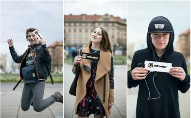 Jakou hudbu poslouchají mladí Češi? Zastavili jsme je a zeptali se