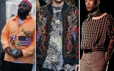 Jakým směrem se bude ubírat pánská móda v roce 2017?