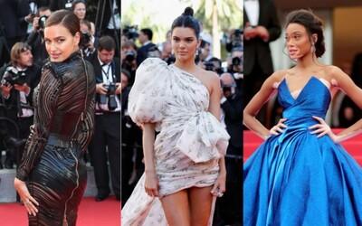 Jakými outfity zazářily Bella Hadid, Irina Shayk či Kendall Jenner? Nejlepší róby celebrit z filmového festivalu v Cannes 2018