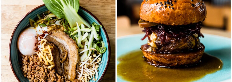 Jam&Co. spojuje asijskou a evropskou kuchyni ve famózní výsledek. Vyladěný Ramen, šťavnatý burger i krůtí konfit si zamilujete ihned