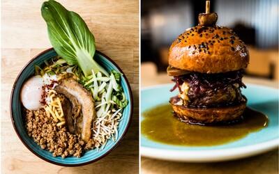Jam&Co. spája ázijskú a európsku kuchyňu vo famózny výsledok. Vyladený Ramen, šťavnatý burger aj morčací konfit si zamilujete ihneď