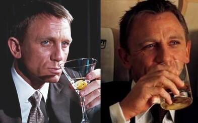 James Bond je alkoholik. Do akce se pouštěl se smrtelnou dávkou 6,1 promile