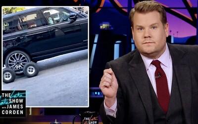 James Corden vysvetľuje, že okrem výnimočných prípadov naozaj šoféruje pri natáčaní Carpool Karaoke