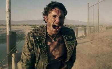 James Franco a jeho sexy androidka rozpútavajú v šialenom post-apokalyptickom sci-fi krvavé akčné peklo