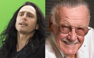 James Franco a Stan Lee boli obvinení zo sexuálneho obťažovania. Obaja vinu kategoricky popierajú