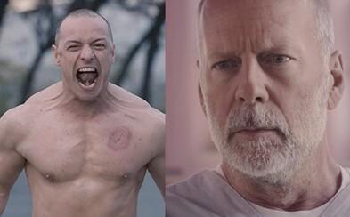 James McAvoy a Samuel L. Jackson v thrilleri Glass spájajú sily proti Bruceovi Willisovi. M Night Shyamalan je v prvotriednej forme