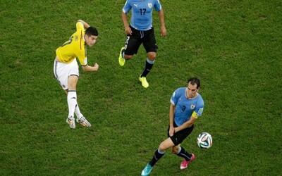 James Rodriguez vyhrál oficiální hlasování o nejhezčí gól světového šampionátu