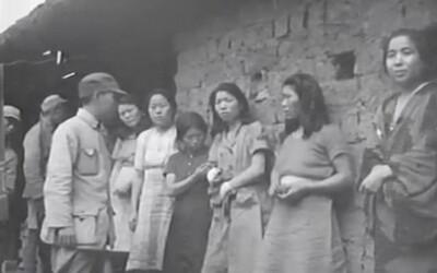 Japonská armáda využívala v druhej svetovej vojne kórejské ženy ako sexuálne otrokyne. Výskumníci objavili vôbec prvé video, ktoré ich zachytáva