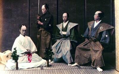 Japonská rituální sebevražda seppuku: Čestná smrt samurajů doprovázená nepředstavitelným utrpením