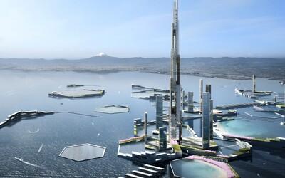 Japonsko chystá futuristické město s věží dvakrát vyšší než Burj Khalifa. Zaměřeno by mělo být na obnovitelné zdroje