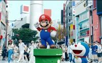 Japonsko sa postaralo o najlepšiu reklamu pre ich olympiádu. V hlavnej úlohe hviezdi Super Mario