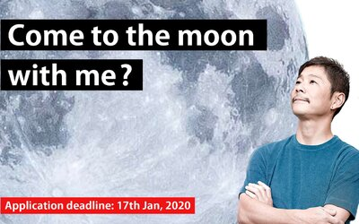 """Japonský miliardár si hľadá """"životnú partnerku"""" na výlet na Mesiac"""