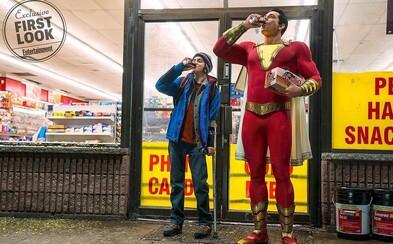 Jason Momoa chystá epický sci-fi seriál a dorazila aj prvá fotografia z očakávanej DC komiksovky Shazam!