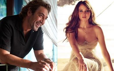 Javier Bardem si možno zahrá po boku Jennifer Lawrence v novom filme Darrena Aronofskyho