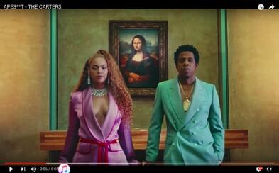 Jay-Z a Beyoncé prekvapujú videoklipom z parížskeho Louvre a spoločným albumom
