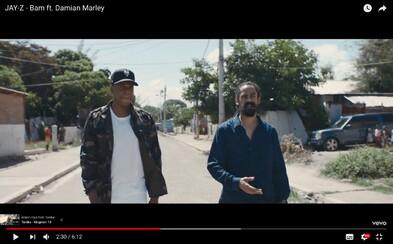 JAY-Z dostáva lekciu histórie Jamajky v najnovšom videoklipe BAM s Damianom Marleym