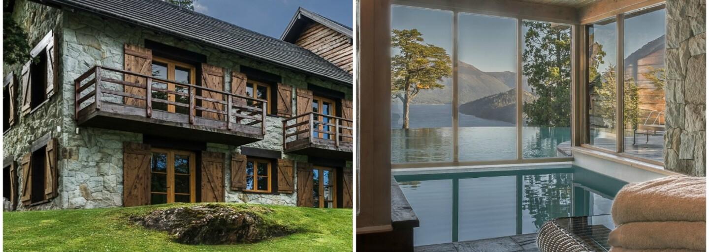 Jazero priamo pod domom a drevo, kde sa len pozrieš. Luxusné hniezdočko z Argentíny ti podlomí kolená