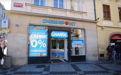 Je konec, směnárna v Praze nabízející 15 korun za euro dostala milionovou pokutu a přišla o licenci