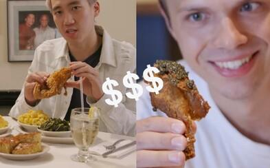 Je lepšie vyprážané kura za 17 či 500 dolárov? Hriešne luxusný život naráža na všednú realitu vo vydarenej sérii od BuzzFeedu už dlhší čas