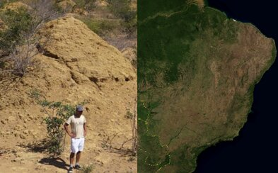 Je obrovská jako Velká Británie. Vědci našli 4000 let starou stavbu viditelnou z vesmíru, ale lidé ji nepostavili